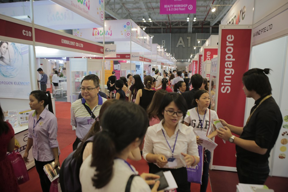 COSMOBEAUTÉ VIETNAM 2012 ANNOUNCED STRATEGIES ATTRACTING MORE REGIONAL VISITORS FROM MEKONG DELTA REGIONS