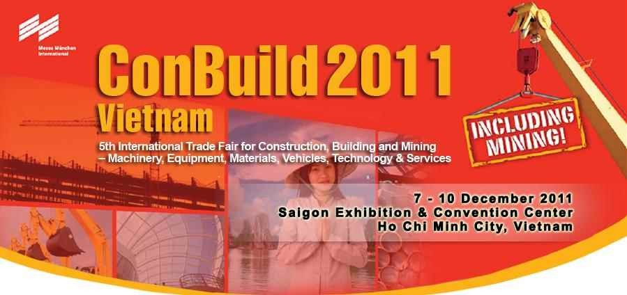 200 businesses attend ConBuild Vietnam 2011
