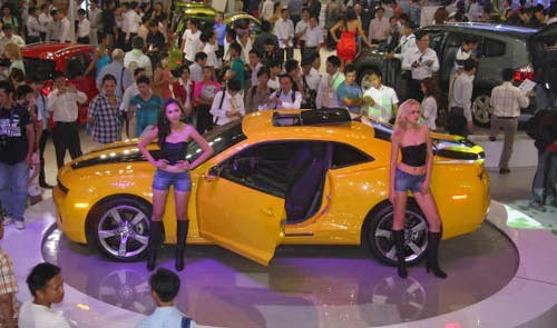 Motor Show takes pole position