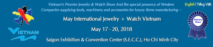 International Jewelry + Watch Vietnam 2018